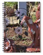 Squaw And Chief Spiral Notebook