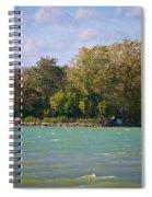 Squaw Island Spiral Notebook