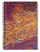 Squiggle Stream Spiral Notebook