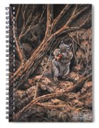 Squirrel-ly Spiral Notebook