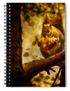 Squirrel With Pear Spiral Notebook