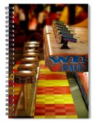 Squirt Gun Game Spiral Notebook