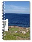 Squish Studio Tilting Fogo Island Newfoundland Spiral Notebook