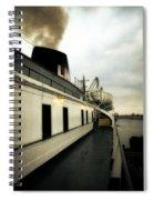S.s. Badger Car Ferry Spiral Notebook