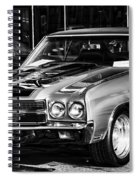Ss Chevelle Spiral Notebook