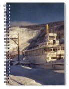 S.s. Keno Sternwheel Paddle Steamer Spiral Notebook