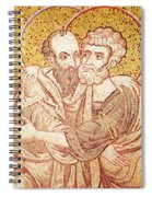 Saints Peter And Paul Embracing Spiral Notebook