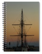 S S V  Corwith Cramer In Key West Spiral Notebook