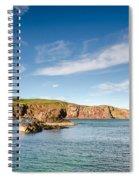 St Abbs Cliffs Spiral Notebook
