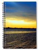 St Andrews Bay Sunset Spiral Notebook