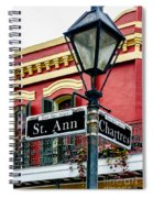 St. Ann And Chartres Nola  Spiral Notebook