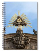 St Anne's Church In Budapest Architectural Details Spiral Notebook