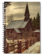 St Anne's Church In Winter Spiral Notebook
