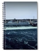 St Anthony Falls Minneapolis Spiral Notebook