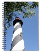 St. Augustine Light Spiral Notebook