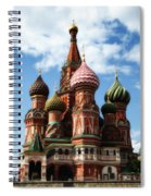 St. Basil's Cathedral Spiral Notebook