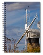 St Benets Drainage Mill Norfolk Spiral Notebook