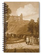 St Catherines Hill Near Guildford Spiral Notebook