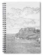 St Catherines Rock Tenby 2 Spiral Notebook