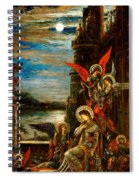 St Cecilia The Angels Announcing Her Coming Martyrdom Spiral Notebook