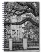 St. Charles Ave. Mansion 2 Bw Spiral Notebook