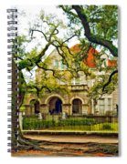 St. Charles Ave. Mansion Paint Spiral Notebook