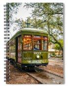 St. Charles Streetcar 2  Spiral Notebook
