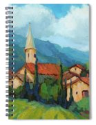 St. Colombe Provence Spiral Notebook
