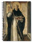 St. Dominic De Guzman Spiral Notebook