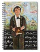 St Dominic Savio Spiral Notebook