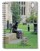 St Edmund Of Abingdon Spiral Notebook