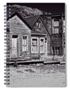 St Elmo In Black And White Spiral Notebook