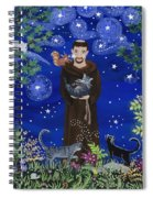 St. Francis And Spike Spiral Notebook