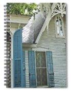 St Francisville Inn Windows Louisiana Spiral Notebook