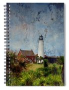 St. George Island Historic Lighthouse Spiral Notebook