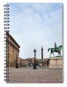 St Georges Hall, Liverpool, Merseyside Spiral Notebook