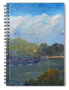 St Georges River Near Como Marina  Spiral Notebook