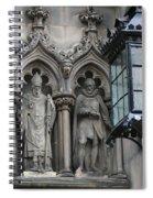 St Giles Church Statues 6600 Spiral Notebook
