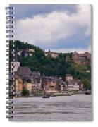 St Goar Am Rhein Spiral Notebook