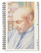 St. Ignatius At Prayer In Rome Spiral Notebook