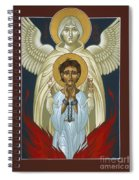 St. Joan Of Arc With St. Michael The Archangel 042 Spiral Notebook