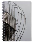 St. Joan Sculpture Vertical Spiral Notebook