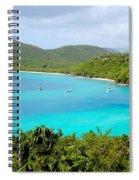 St John Beach Spiral Notebook