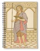 St John The Baptist Spiral Notebook
