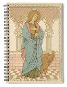 St John The Evangelist Spiral Notebook