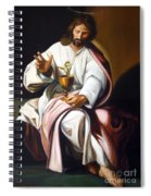 St John The Evangelist Spiral Notebook