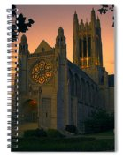St Johns Cathedral - Spokane Spiral Notebook