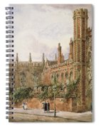 St. Johns College, Cambridge, 1843 Spiral Notebook