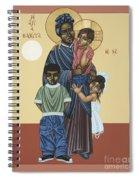 St. Josephine Bakhita Universal Sister 095 Spiral Notebook