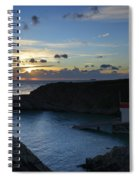 St Justinian Sunset Spiral Notebook